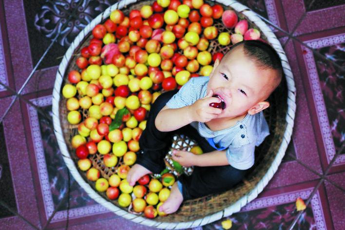 爷爷种的水果 最甜