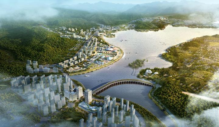 """融杭一周年④丨滨湖新城崛起 """"临湖不见湖""""将成历史"""