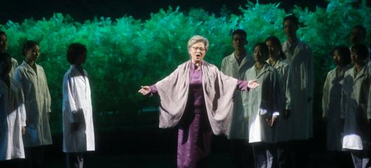 歌剧《呦呦鹿鸣》在杭上演