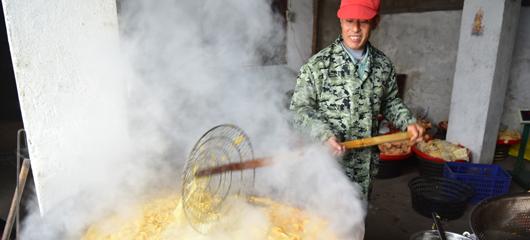 建德:薯片飘香 农家增收