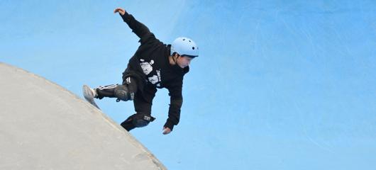 中国滑板俱乐部联赛桐庐站开赛
