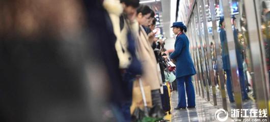 杭州地铁2号线客流增多