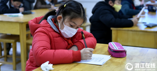流感击中小学霸 隔离考场拼机会