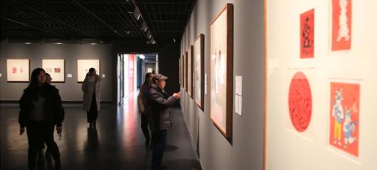浙江美术馆的这场展览让春节更有艺术味