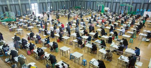 中国美院艺考拉开大幕 报考人数再创新高