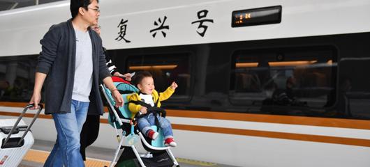 杭州到北京最快只需4小时23分!复兴号全速开跑
