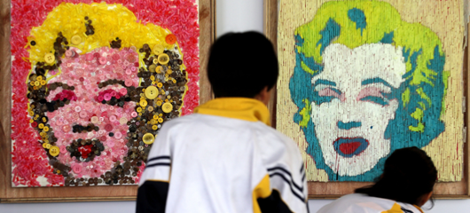 西溪湿地博物馆举办垃圾艺术展