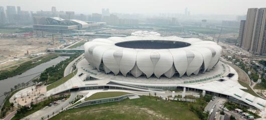 杭州奥体博览城打造立体交通网