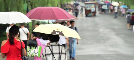 杭州开启新一轮降雨模式
