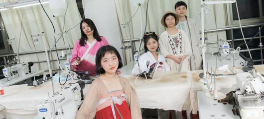 浙江5名女大学生投资三千 做汉服网上卖