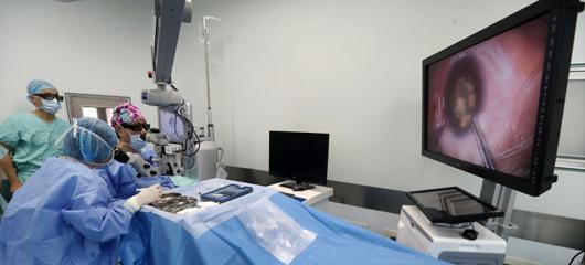 """浙二医院在白内障手术中使用""""3D""""技术"""
