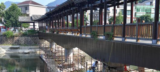 淳安:整修廊桥 排除隐患