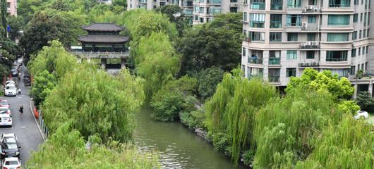 生态廊道串联起西湖和运河两大文化遗产