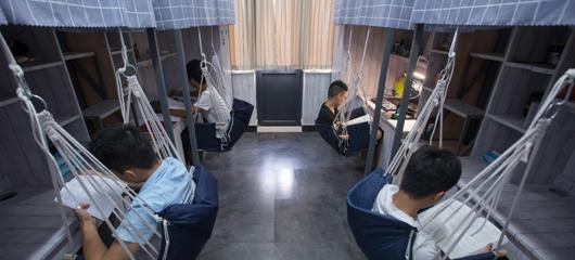 颜值爆表!杭州这所大学大一新生住进精装修寝室