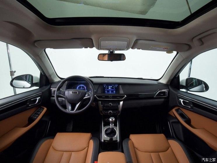 众泰汽车 大迈X5 2018款 智能互联版