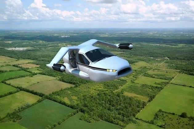 吉利旗下Terrafugia首款量产飞行汽车月底预售