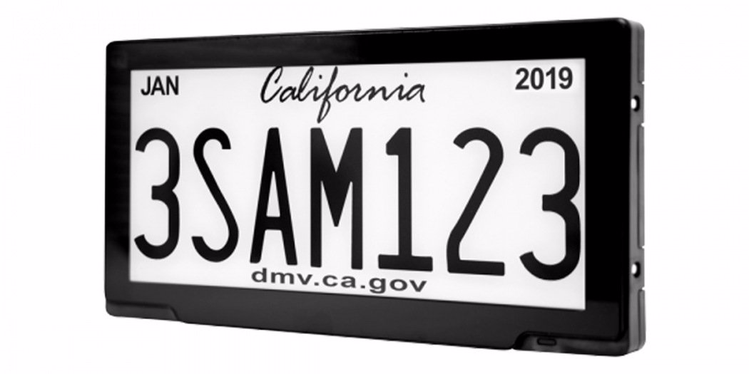 """加州开始试点数码车牌 车辆从此""""有迹可循"""""""