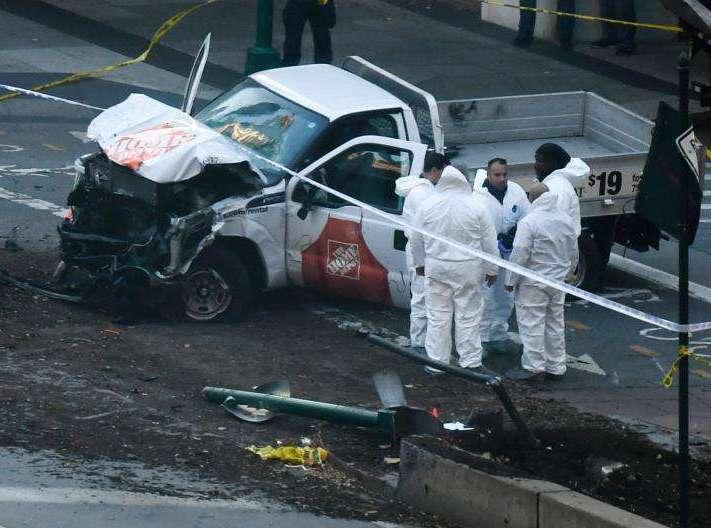 消息人士称纽约卡车撞人案嫌犯事发前曾租用卡车