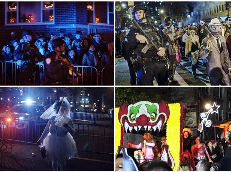 纽约恐袭后万圣节巡游继续 民众:不会被袭击吓怕