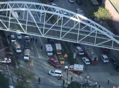 纽约卡车撞人恐袭案:华人学生目击现场引家长担忧