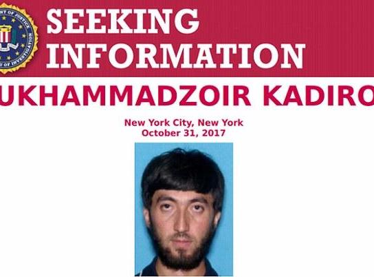 纽约恐袭致8死嫌犯被起诉 FBI已找到涉案第二人