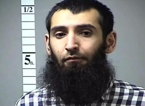 """""""梦断美国"""":纽约恐袭嫌犯如何从合法移民成为屠杀者"""