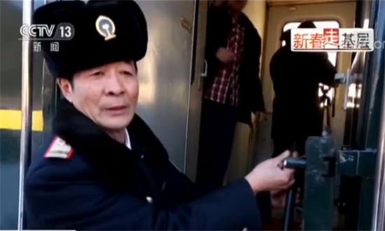 """【新春走基层·春运故事】大兴安岭深处的""""雪国列车"""""""