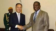 """津巴布韦大选 候选者姆南加古瓦与中国有着半个世纪""""情缘"""""""