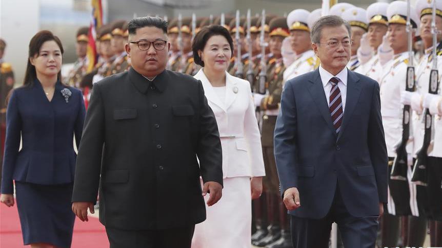 朝韩领导人年内第三次会晤