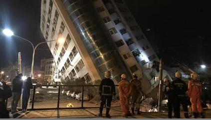 恐怖巧合!台南维冠金龙大楼倒塌2周年整 花莲大楼再塌