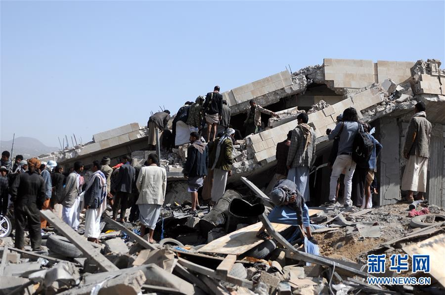 (国际)(1)也门萨那市郊遭遇空袭