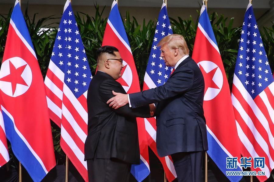 (XHDW)朝美领导人会晤