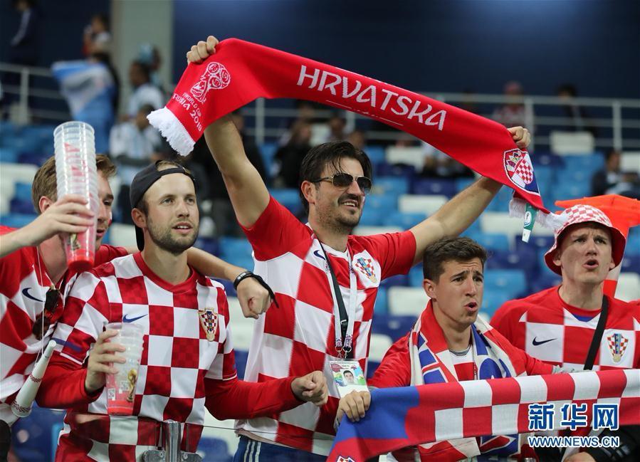 (世界杯)(26)足球――D组:克罗地亚队击败阿根廷队