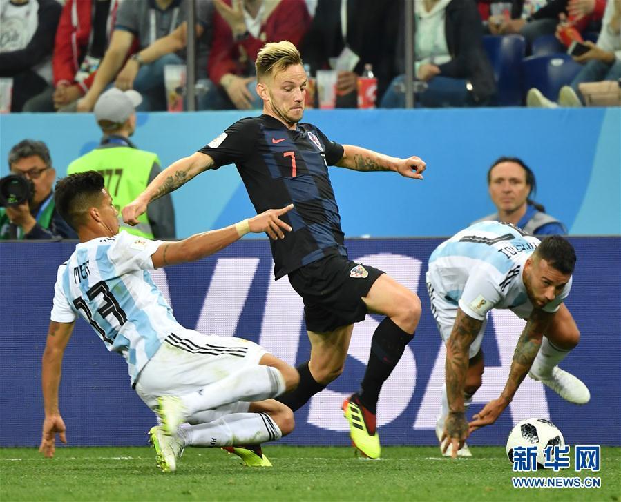 (世界杯)(36)足球――D组:克罗地亚队击败阿根廷队