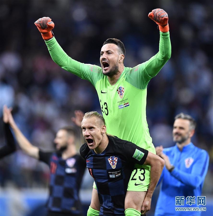 (世界杯)(8)足球――D组:克罗地亚队击败阿根廷队