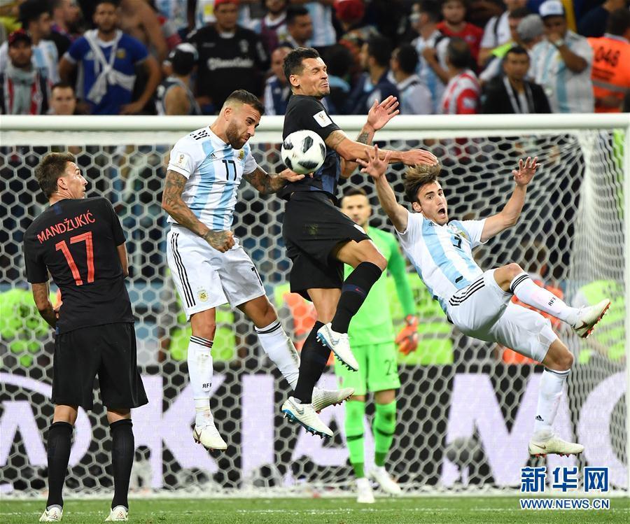 (世界杯)(16)足球――D组:克罗地亚队击败阿根廷队