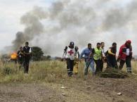 ?墨西哥坠毁飞机乘客死里逃生后感叹:我真幸运
