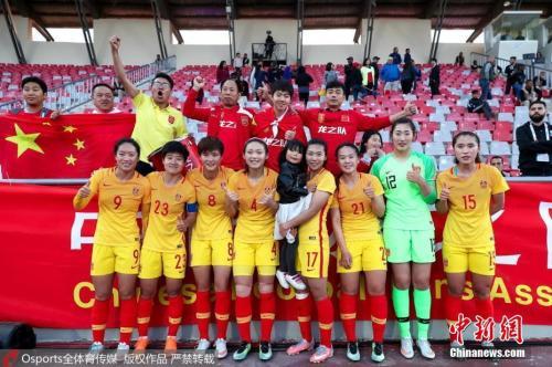 球迷期待中国女足重塑辉煌。 图片来源:Osports全体育图片社