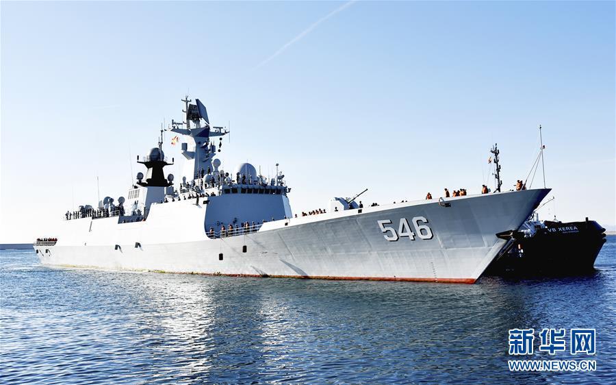 (国际)(1)海军第二十八批护航编队技术停靠西班牙
