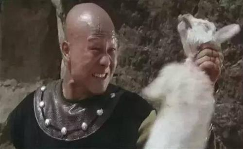 截图:计春华在《少林寺》中饰演秃鹰