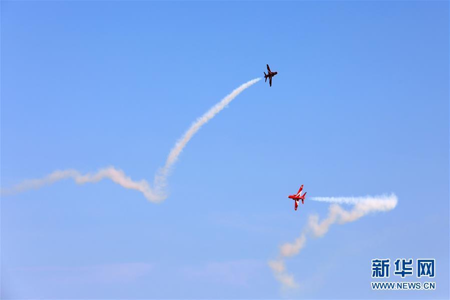 高水平涡喷航模飞机比赛在山东荣成开幕
