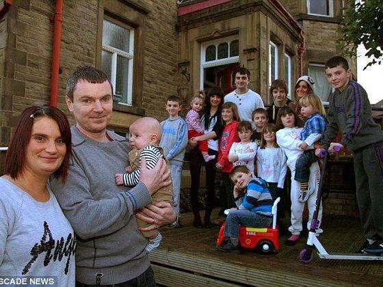 42岁英国母亲诞下20个娃 最会生的竟然还不是她
