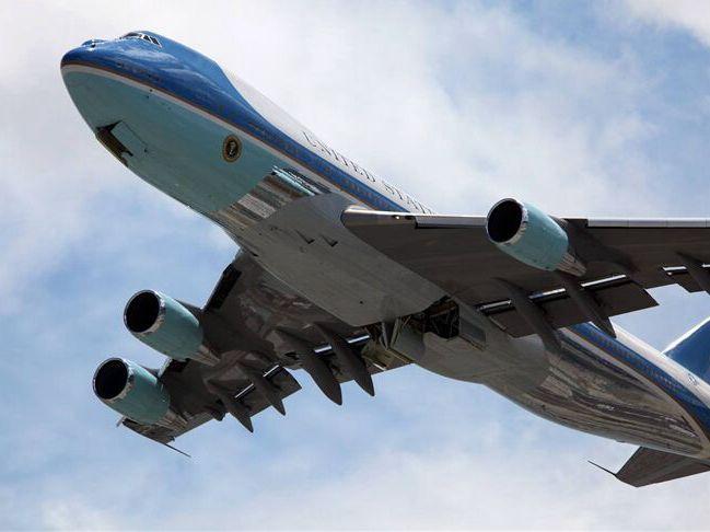 """美国""""空军一号""""要换代 特朗普如意算盘:又大又便宜"""
