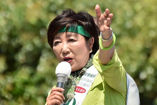小池百合子:距离日本首位女首相仅有一步之遥?