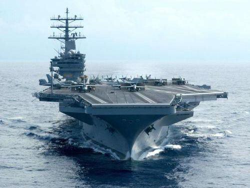 三艘航母罕见齐聚西太平洋 美国这一招背后有深意