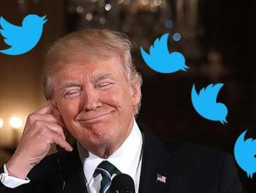 """原来是受不了""""委屈""""和""""欺负"""" 特朗普曝出爱用社交媒体原因"""