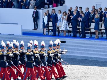 效仿法国举行盛大阅兵?美国人为何不买特朗普的账