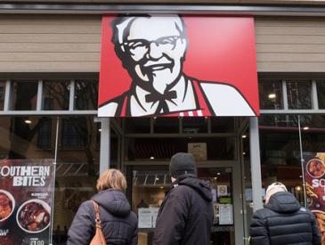 我们要吃鸡!英国肯德基店约700家分店暂停营业