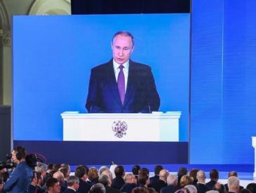 """俄罗斯九枚核弹飞向美国 普京的宣传片让西方媒体""""炸了"""""""