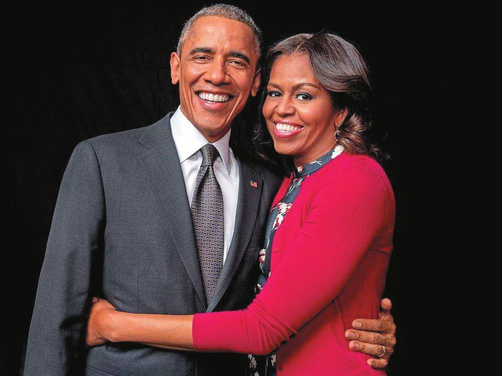 奥巴马夫妇将进军演艺圈拍影视剧 或捞金数千万美元
